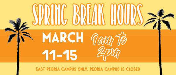 Spring Break Hours