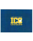 BLANKET COLLEGE HOUSE ROYAL WITH ICC COUGARS ONE SIZE