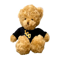 Stuffed Animal Spirit Products Bear With Navy Sweater Gold Icc