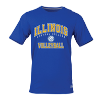 Tshirt Volleyball Illinois Cc