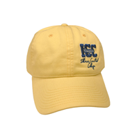 Hat Mvsports Icc W/Paw Back Yellow
