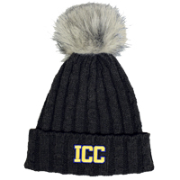 Stocking Hat Logofit W/Fur Pom