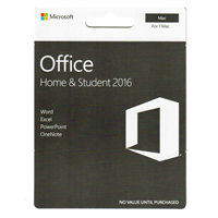 Ms Office Mac Home & Student $149.99