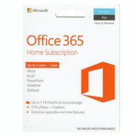 Ms Office 365 Home 1 Yr $99