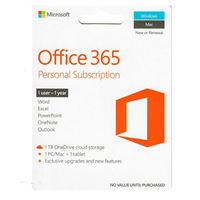 Ms Office 365 Personal 1 Yr $69.99