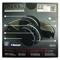HEADPHONES SENTRY BLUETOOTH WITH MIC ASSORTED COLORS