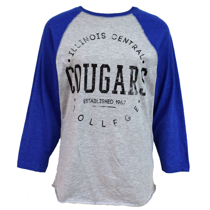 sale TSHIRT COUGARS SLEEVES GREY COLLEGE HOUSE (SKU 10438084158)