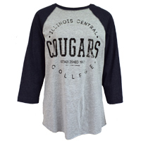 sale TSHIRT COUGARS SLEEVES GREY COLLEGE HOUSE