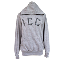 sale SWEATSHIRT HOODED ICC FRONT EMBROIDER