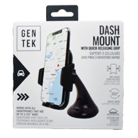 Dash Mount With Quick Releasing Grip