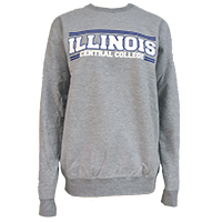 Sweatshirt Crew Illinois Cc Royal Double Line